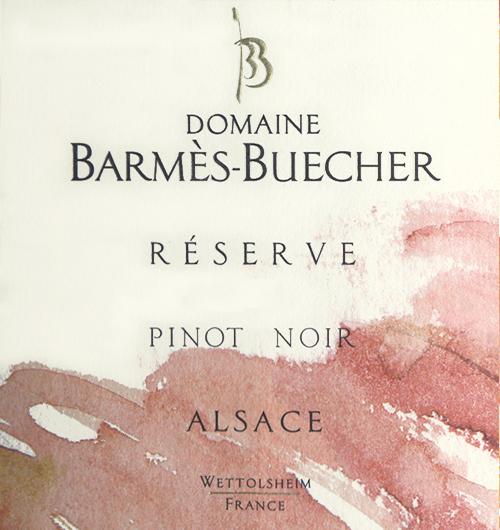 Alsace Pinot Noir Reserve Domaine Barmès-Buecher 2018