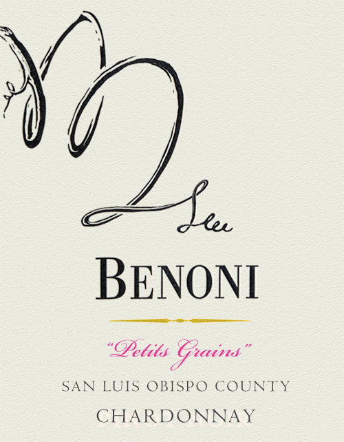 San Luis Obispo Chardonnay Petit Grains Benoni 2018