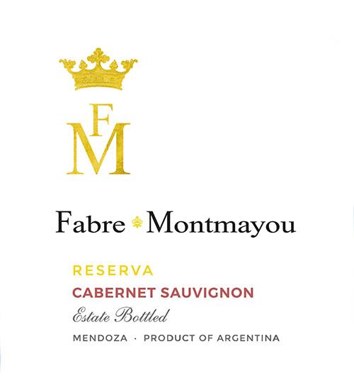 Mendoza Cabernet Sauvignon Reserva Fabre Montmayou 2018
