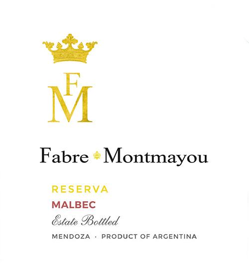 Mendoza Malbec Reserva Fabre Montmayou 2017