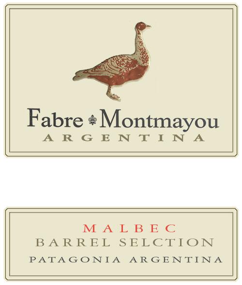 Patagonia Malbec Barrel Selection Fabre Montmayou 2018
