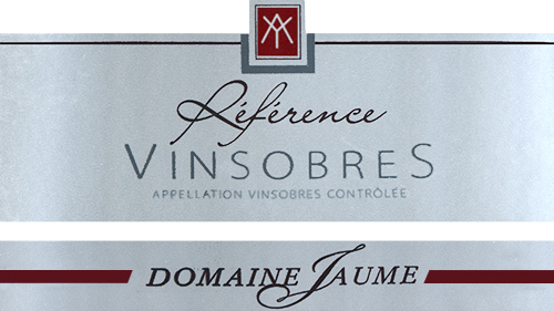 Vinsobres Reference Domaine Jaume 2016